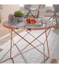EMMA Copper - Sofabord - Ø 85 cm