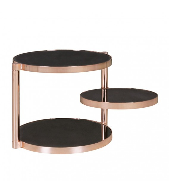 PIA Copper - Sofabord - Ø 45cm