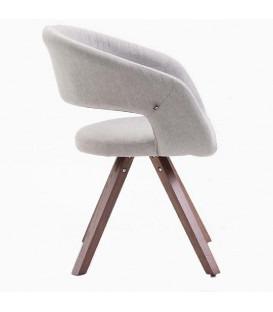 Stylo - Spisebord stol - lysegrå