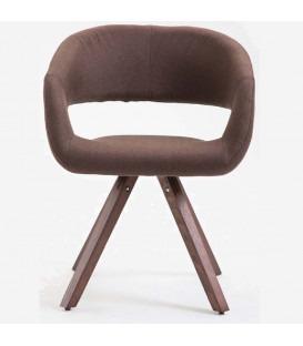 Stylo - Spisebord stol - brun