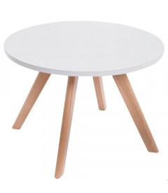 ERIK - Natura - Sofabord - Ø60 cm