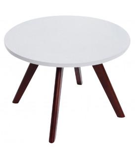 ERIK - Cappuccino - Sofabord - Ø60 cm