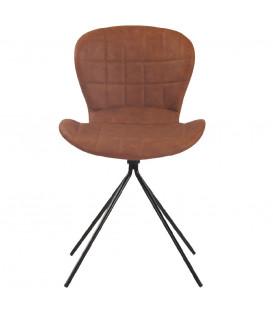 CLARA - Spisebord stol - brun