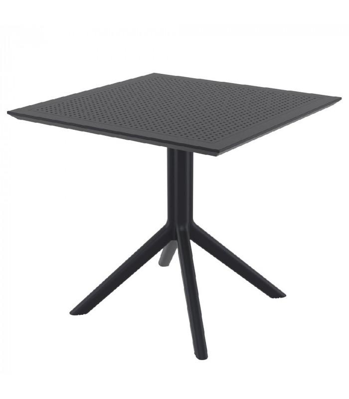 CIELO - Havebord - 80 cm - sort