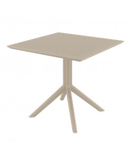CIELO - Havebord - 80 cm - taupe