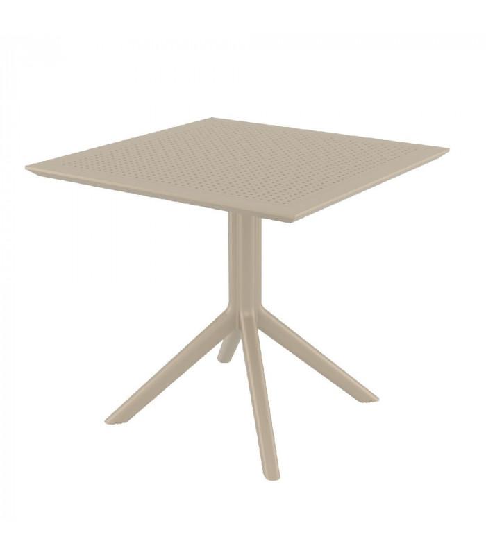CIELO - Havebord - 80 cm - taupe