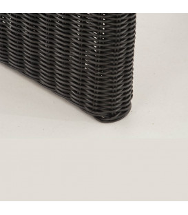 MINERA - Have bord - 138 cm - sort