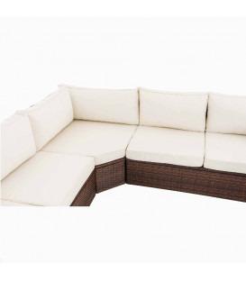 Tibera - brun - hvid