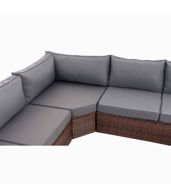Tibera - brun - grå