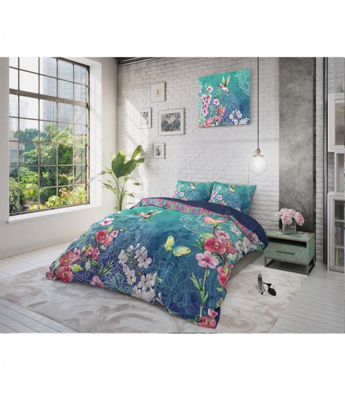 BLUE - Bomuld - sengesæt