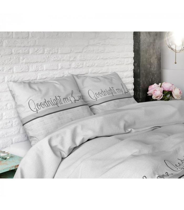 WHITE LOVE - sengesæt