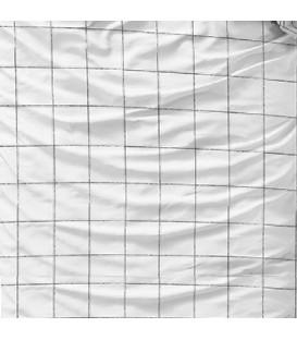 CHECK white - Sengesæt - Bomuld/satin