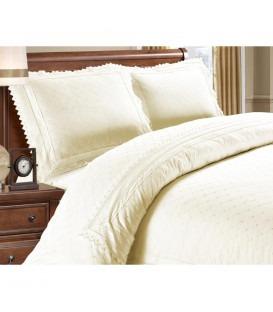 LILY cream - Luxsus sengesæt - bomuld