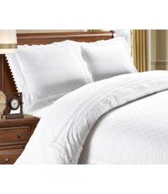 LILY white - Luksus sengesæt - bomuld