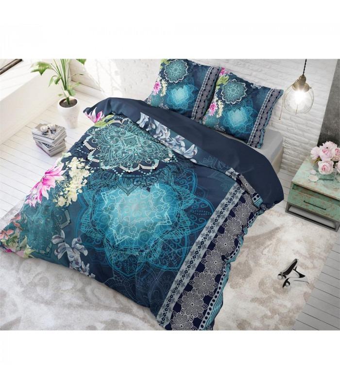 NULA Blue - Bomuld - sengesæt