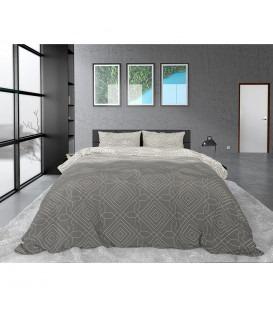 CESLEY Taupe - sengesæt