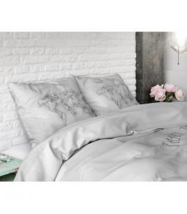 MARMOR World Grey - Bomuld - sengesæt