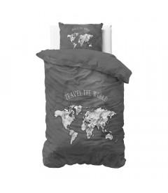 MARMOR World Black - Bomuld - sengesæt