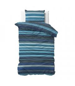 JIMMY Blue  - Sengesæt - Blandings bomuld