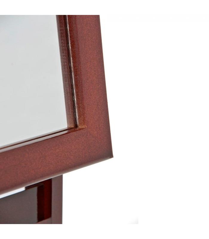 OLANDA - Gulv spejl - 150 cm - brun