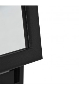 OLANDA - Gulv spejl - 150 cm - sort