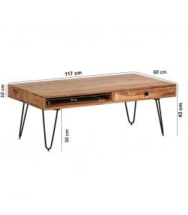 AGLI - Sofabord -120 cm
