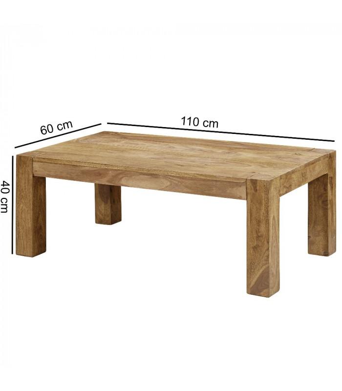 DEHLI - Sofabord -110 cm