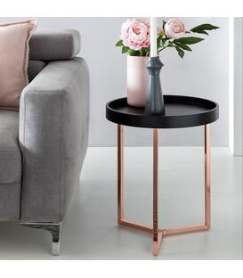 LISA Copper - Hjørnebord - Ø40 cm