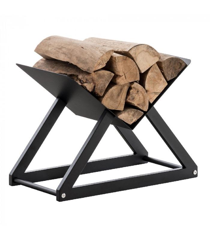 FIRE - Luksus Brænde stativ - Sort