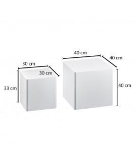 BLOCK - Sidebord - 2-sæt