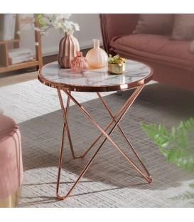 EMMA Copper - Sidebord - Ø 55 cm