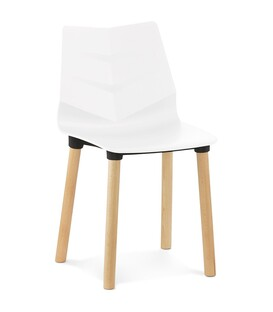 Torro - Designerstol - Hvid