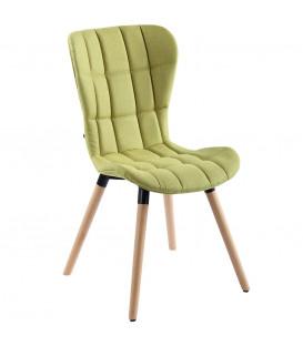 Ida - stof/natura - Spisebord stol