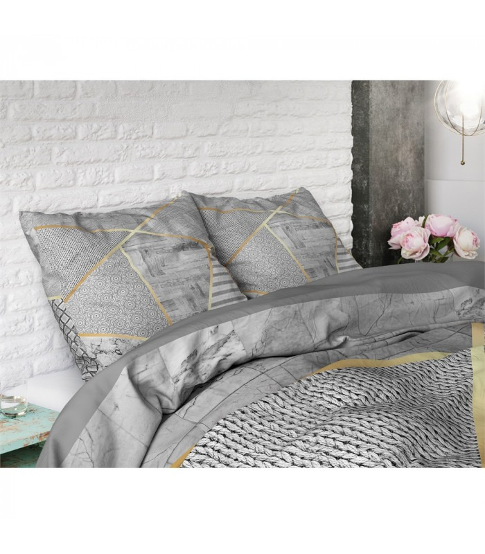 Graphic grey - sengesæt